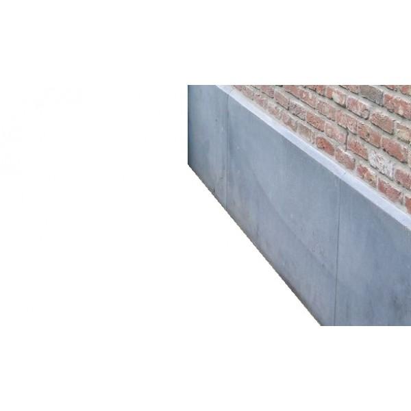 Gevelplint Belgisch hardsteen 100x40cm