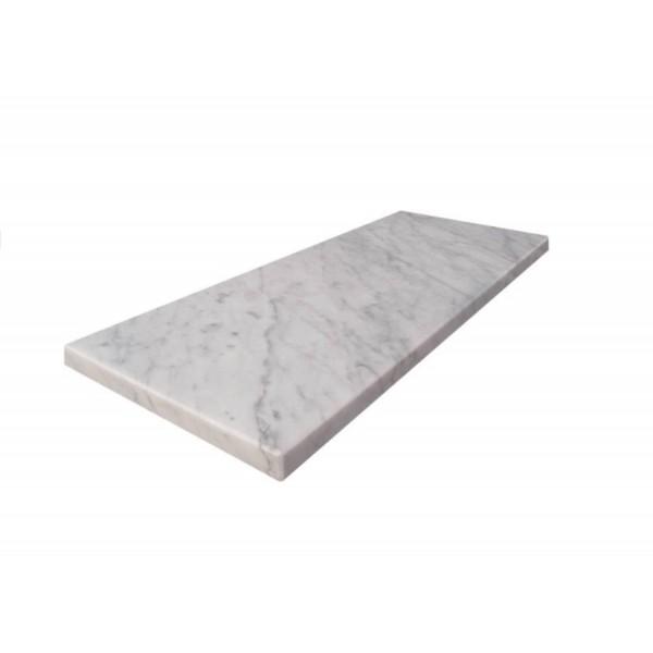 Bianco Carrara wandplankje / planchet