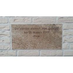 Eerste steen vanaf €89