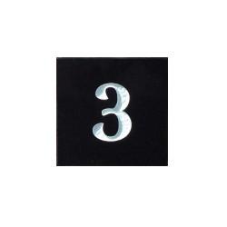 Huisnummerbord graniet