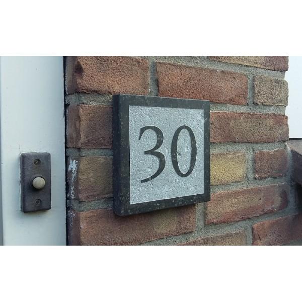 Huisnummerbordje met naam bf25 aboriginaltourismontario for Huisnummerbord maken