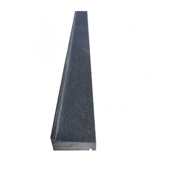 Zwart graniet gezoet raamdorpel